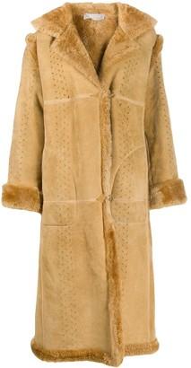 A.N.G.E.L.O. Vintage Cult 1980s Shearling-Trimmed Coat