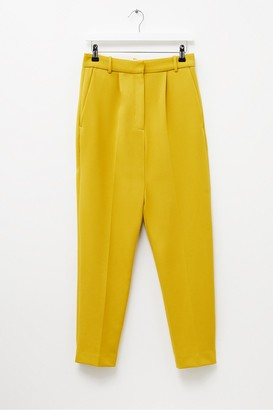 French Connection Alido Sundae Suiting Pleated Trousers