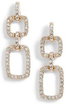 Judith Jack Women's Pave Crystal Drop Earrings
