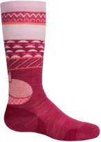 Smartwool Wintersport Fox Socks - Merino Wool, Over the Calf (For Little and Big Kids)