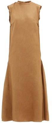 ALBUS LUMEN Agaso Sleeveless Linen Dress - Camel
