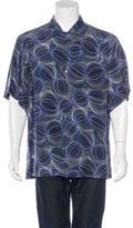 Brioni Geometric Print Shirt