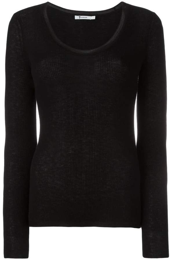 Alexander Wang scoop neck jumper