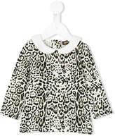 Roberto Cavalli leopard print blouse