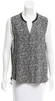 Sandro Sleeveless V-Neck Top w/ Tags