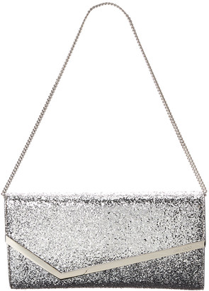 Jimmy Choo Erica Glitter Effect Clutch