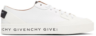 Givenchy White Basse Tennis Light Sneakers