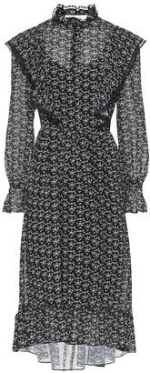 See by Chloe Printed crepe midi dress