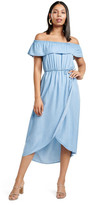 Forever New Sierra Denim Wrap Maxi Dress