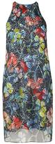 LK Bennett Carmel Print Silk Dress