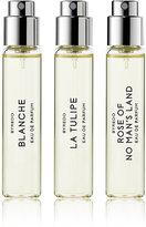 Byredo Women's La Sélection Florale - Blanche & Tulipe & Rose of No Man's Land Eau de Parfum