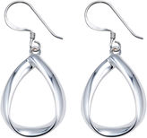 JCPenney FINE JEWELRY Sterling Silver Open Teardrop Earrings