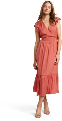 Forever New Estelle Tiered Midi Dress