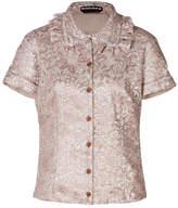 Rochas Metallic Jacquard Shirt