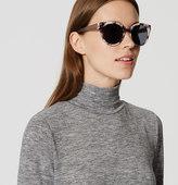 LOFT Marbleized Cateye Sunglasses