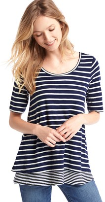 Gap Maternity Double-Layer Nursing T-Shirt