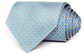 Salvatore Ferragamo Mini Linked Gancini Silk Classic Tie