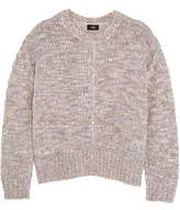 Line Marled Stretch-Knit Sweater