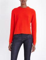 Rag & Bone Valentina waffle-knit cashmere jumper