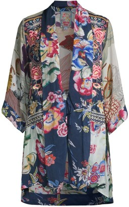 Johnny Was Issake Reversible Printed Kimono