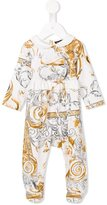 Roberto Cavalli baroque print pyjamas