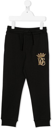 Dolce & Gabbana Kids Logo Print Sweatpants