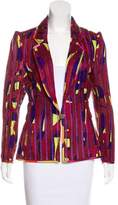 Christian Lacroix Printed Notch-Lapel Jacket