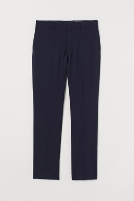 H&M Slim Fit Wool Suit Pants
