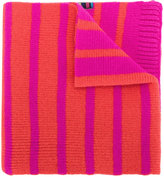 Paul Smith reversible neon striped scarf
