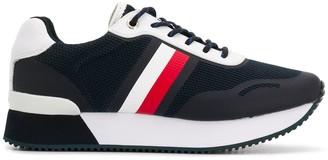 Tommy Hilfiger Mesh Panelled Running Sneakers