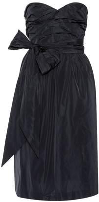 ALEXACHUNG Strapless dress