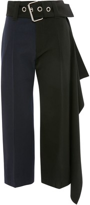 J.W.Anderson Oversize Belt Cropped Trousers