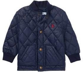Ralph Lauren Childrenswear Baby Boy's Quilted Baseball Jacket