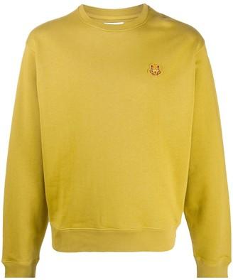 Kenzo Cotton Sweatshirt With Tiger Emblem
