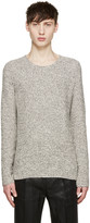 Paul Smith Grey Melange Crewneck Sweater