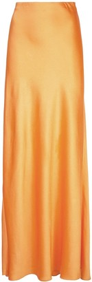 Rosetta Getty Full Maxi Skirt
