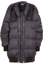 Stella McCartney Mietta Hooded Quilted Shell Jacket - Indigo