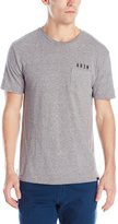 KR3W Men's Locker Pocket Tee, Grey Heather