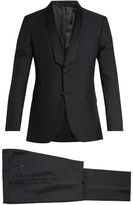 Valentino Shawl-collar Wool And Mohair-blend Tuxedo