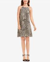 Vince Camuto Animal-Print Swing Dress