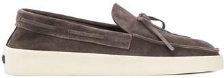 Ermenegildo Zegna FEAROFGODZEGNA bow-detail slip-on loafers