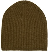 Denis Colomb Cashmere-knit beanie hat