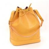 Louis Vuitton very good (VG Yellow Epi Leather Noe Shoulder Bag