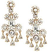 Belle Badgley Mischka Floral Chandelier Statement Earrings