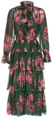 Zimmermann Poppy Tiered Frill Dress