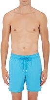 Vilebrequin Men's Micro-Striped Swim Trunks-BLUE