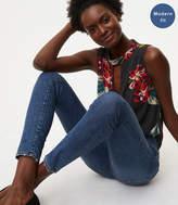 LOFT Modern Skinny Jeans in Classic Mid Indigo Wash