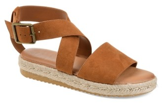 Journee Collection Trinity Espadrille Platform Sandal