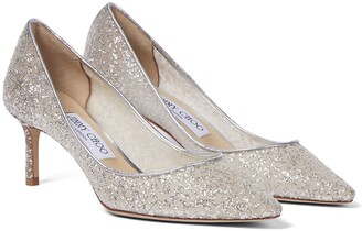 Jimmy Choo Romy 60 sequinned pumps
