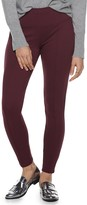 Apt. 9 Women's Tummy Control Pull-on Ponte Leggings